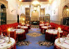 Moroccan Wedding Tables