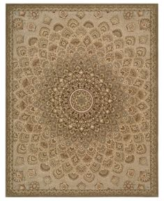 "Nourison Area Rug, Wool & Silk 2000 2262 Multicolor 8'6"" x 11'6"""