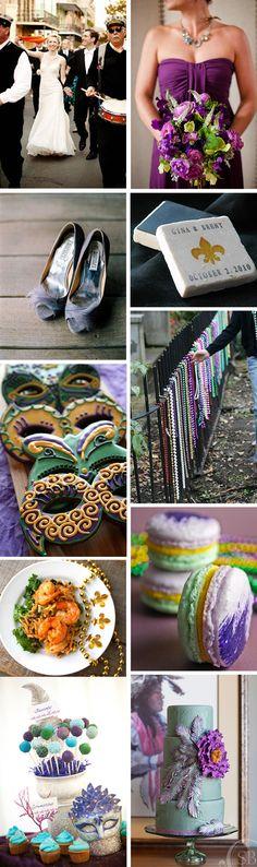 mardi gras wedding ideas Mardi Gras Themed Weddings