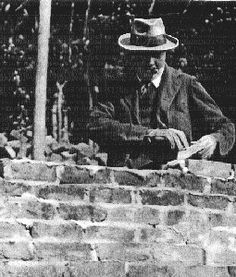 Churchill the Bricklayer: Churchill's handyman art Chartwell recalled that after Churchill had finished bricklaying for the day, he sometimes had to go back and secretly relay some of them lest the wall should in time fall!