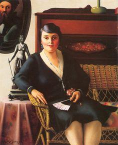 Archibald Motley, Portrait of My Mother, 1931