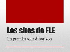 Les sites de #fle by Dubreucq Martine via slideshare