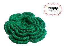 Gancho tejido para el cabello en la tecnica de crochet, trabajo artesanal hecho a mano. Ref: aga02 Raspberry, Fruit, Craft Work, Hand Made, Hair, Crocheting, Tejidos, Accessories, Raspberries