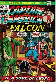 Captain America 161 May 1973 Issue Marvel Comics by ViewObscura