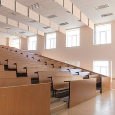 Cool auditorium seating detail