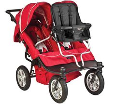 Valco Baby Tri Mode EX Twin. Our new stroller, a triple that can actually fit through the door!