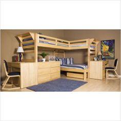 Loft Bunk Beds | Bunk Bed Loft Design, Among bunk beds, the most common are bunk beds ...