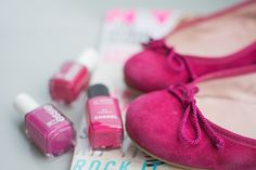 Pink Pretty Ballerinas http://read-my-lips.fr/think-pink-2/