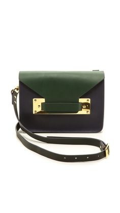 Sophie Hulme Colorblock Envelope bag // 25% off
