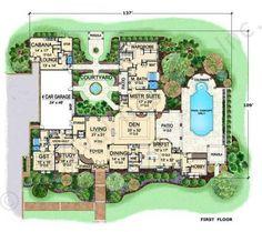 Valderrama House Plan - First Floor