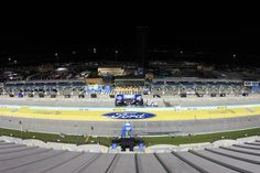 The frontstretch at Homestead-Miami Speedway