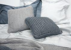 Wełniane poduszki i kod do kompletu https://www.homify.pl/katalogi-inspiracji/9554/rozgrzej-mnie-tekstylia-na-zime