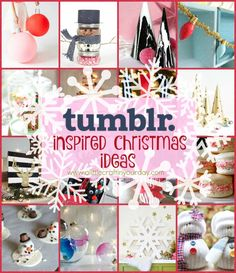 Tumblr Inspired DIY Christmas Crafts that everyone will love to make!