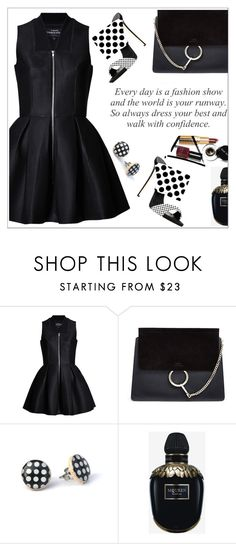 """Fsjshoes.com"" by simona-altobelli ❤ liked on Polyvore featuring Chloé, Alexander McQueen and fsjshoes"