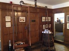 To Berry Bros & Rudd wines to see the famous scale on which Byron weighed himself