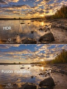Comment fusionner deux images dans Photoshop
