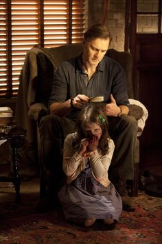 (The Walking Dead) The Governor and his adorable daughter.