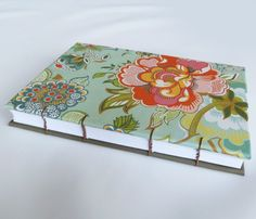Coptic Stitched Journal Notebook with Bright by SushiPapercraft