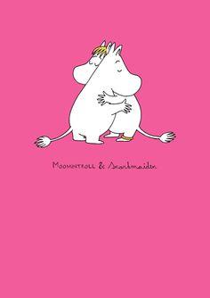Bouchic - Moomin Troll and Snorkmaiden Hugging Greeting Card, £2.15 (http://www.bouchic.co.uk/moomin-troll-and-snorkmaiden-hugging-greeting-card/)