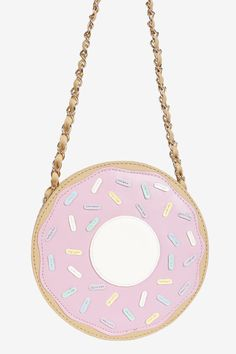 Donut Bag - add a little sugar to your day Handbags On Sale, Luxury Handbags, Cute Purses, Purses And Bags, Unique Purses, Donut Bag, Mode Kawaii, Kawaii Shop, Kawaii Bags