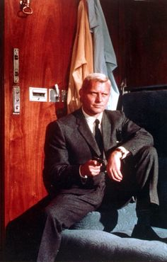 """Robert Shaw as Red Grant of SPECTRE in """"From Russia With Love"""" - 1963"""