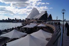 Sydney Opera House harbourside cafes