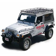 Expedition Rack, Jeep 04-06 Wrangler Unlimited