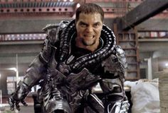 Michael Shannon as the New General ZOD in the New Man of Steel Movie 2013