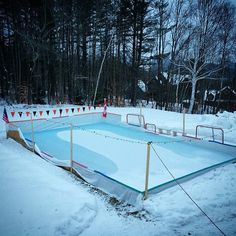Build your own backyard ice rink ice skating in the back yard 13 backyard rinks that will give you the chills solutioingenieria Images