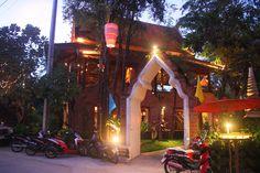 Spirit House in Vientiane, Laos