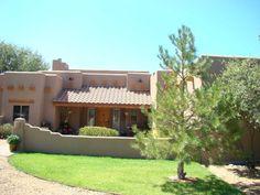 santA fe style courtyards | Back to album Santa Fe Style Home