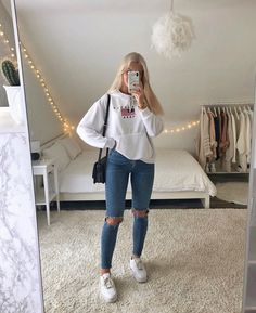 Casual School Outfits, Cute Comfy Outfits, Basic Outfits, Modern Outfits, Simple Outfits, Classy Outfits, Stylish Outfits, Cute Everyday Outfits, Girls Fashion Clothes