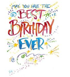 Birthday quotes, greetings and birthday wishes best collection to say happy birthday to your friends, family and love ones to show your love and care for them. Birthday Clips, Birthday Posts, Birthday Messages, Birthday Fun, 19th Birthday, Best Birthday Quotes, Happy Birthday Pictures, Happy Birthday Greetings, Birthday Sayings