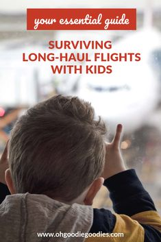 An expat mom's practical, no-brainer tips for surviving long-haul flights with babies, toddlers and kids. Traveling With Baby, Travel With Kids, Family Travel, Travel Toys, Air Travel, Cabin Pressure, Long Haul, I Survived