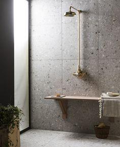 Jagger Light Grey Porcelain Porcelain Ceramics, Porcelain Tiles, Mandarin Stone, Large Format Tile, Outdoor Tiles, Decorative Tile, Bathroom Colors, Terrazzo, Grey