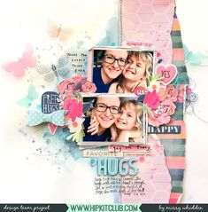 I have a new layout to share for Hip Kit Club using the 2019 May Hip Kits . Mixed Media Scrapbooking, Photo Album Scrapbooking, Scrapbooking Layouts, Scrapbook Pages, Hip Kit Club, Paint Your House, Scrapbook Storage, Picture Layouts, Club Design
