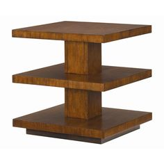 Ocean Club Lagoon Lamp Table with Two Shelves by Tommy Bahama Home - Baer's Furniture - End Table Miami, Ft. Lauderdale, Orlando, Sarasota, Naples, Ft. Myers, Florida