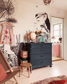 Baby Room Decoration - Tolle #Designideen Baby Bedroom, Baby Room Decor, Girls Bedroom, Trendy Bedroom, Bedrooms, Childs Bedroom, Bedroom Modern, Bedroom Wall, Bedroom Decor