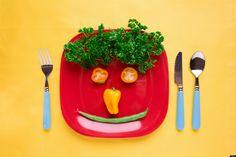 Moodi Foodi: News : Kids Respond Better To Smiling Food