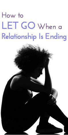 Great expert advice for anyone who has or will go through a breakup, particularly if it's hard to let go. This will help center you!