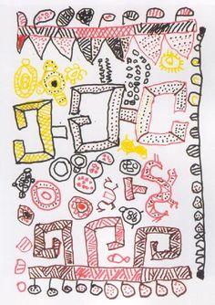 Waiapi design on paper