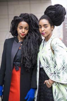 sasha & sable boykin | Quann Sisters Make Vogue, Elle, Harper's Bazaar, Marie Claire, WWD ...