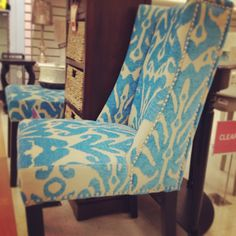 Fab chairs to refresh your home with.