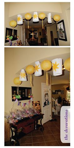 Cute Rapunzel party