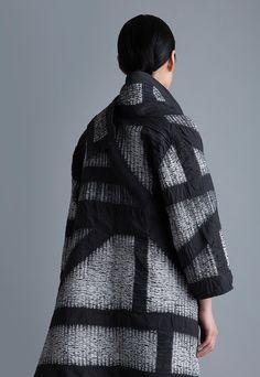 Amy Nguyen Textiles - Kintsugi - Wrap Coat