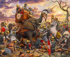 Ancient Roman Wars: Battle of Zama | via @learninghistory