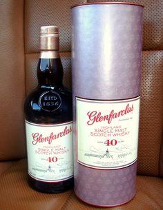 Glenfarclas 40 YO Single malt scotch whisky Speyside 0,7l, 46%