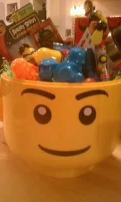 LEGO sort & store as Easter basket!
