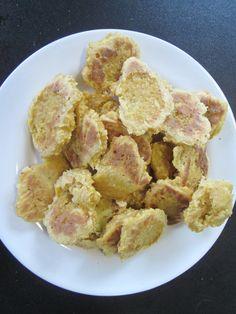 Geen mooie foto, maar deze havermoutkoekjes waren zo op en smaakte als appeltaart. Nom, nom, nom. http://wp.me/p49Qjv-1x