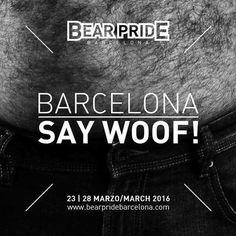 Bear Pride Barcelona  23-28 Marzo/March 2016  Pronto info de las fiestas / Parties info coming soon  Merchandising: http://ift.tt/1nAAyBC by @cazabeareurope  Info: http://ift.tt/1nqh5my  #bearpridebarcelona #instabear #instagay #instawoof #hairybear #hairygay #saywoof #woof #scruff #musclegay #beardedgays #gaybcn #gayosos #gaybarcelona  #beard #bear365 #growlr #purebloodedbears #gayfat #picsbybears #grizzly #gayfur #gaymen #beardedmen #burly #beardy by bearpridebarcelona